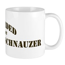 Miniature Schnauzer: Guarded  Mug