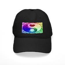 Psychedelic Yin-Yang Baseball Hat