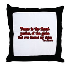 Texas Is The Finest Portion O Throw Pillow