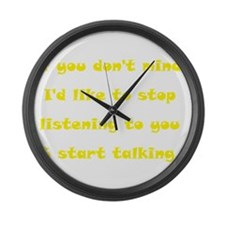 words6b.png Large Wall Clock
