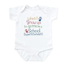 Future School Superintendant Infant Bodysuit