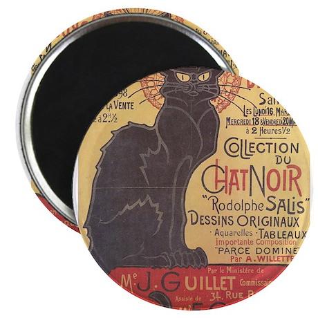 "chat-noir.png 2.25"" Magnet (100 pack)"