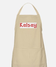 Kelsey - Candy Cane BBQ Apron