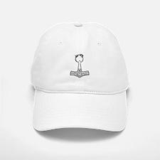 thor-hammer.png Baseball Baseball Cap
