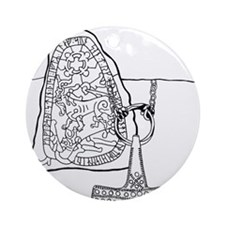 rune-stone-2.png Ornament (Round)