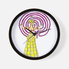 snake-goddess-c1.png Wall Clock