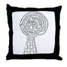Crete Goddess Throw Pillow