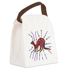 Kangaroo Color 1 Canvas Lunch Bag