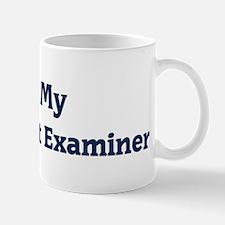 I Love My Latent Print Examin Mug