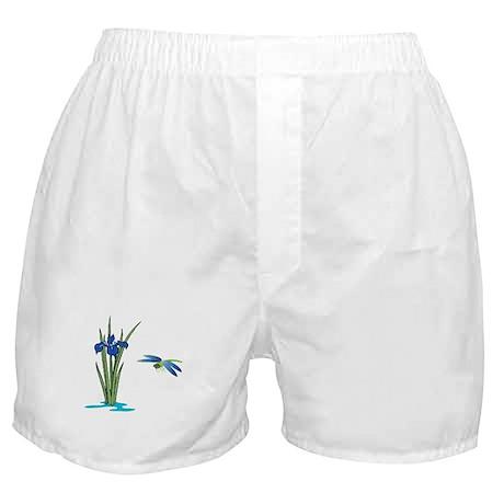 Dragonfly Iris Boxer Shorts