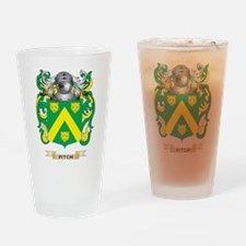 Fitch Coat of Arms Drinking Glass
