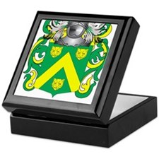 Fitch Coat of Arms Keepsake Box