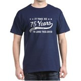 75th birthday Tops