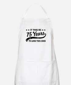 Funny 75th Birthday Apron