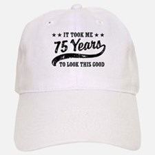 Funny 75th Birthday Cap
