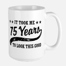 Funny 75th Birthday Mug
