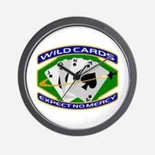 Wildcards Wall Clock