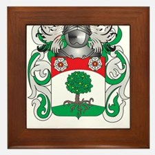 Flannery Coat of Arms Framed Tile