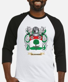 Flannery Coat of Arms Baseball Jersey
