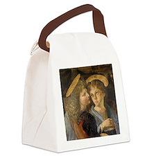 Baptism of Christ Angels Leonardo Canvas Lunch Bag
