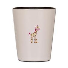 Cute Baby Giraffe Shot Glass