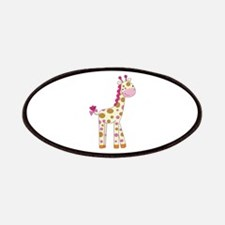 Cute Baby Giraffe Patches