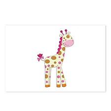 Cute Baby Giraffe Postcards (Package of 8)