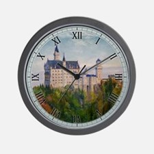 Neuschwanstein Wall Clock