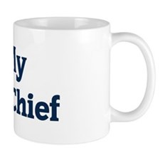 I Love My Deputy Chief Small Mugs