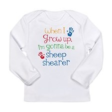 Future Sheep Shearer Long Sleeve Infant T-Shirt