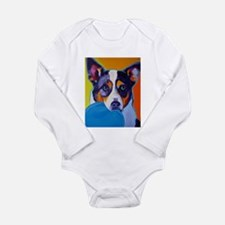 Heeler #1 Long Sleeve Infant Bodysuit