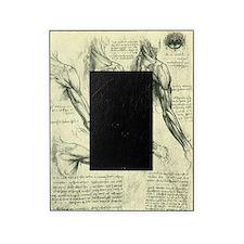 Male Anatomy by Leonardo da Vinci Picture Frame