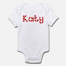 Katy - Candy Cane Infant Bodysuit