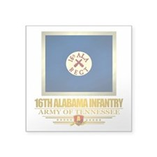 16th Alabama Infantry Sticker