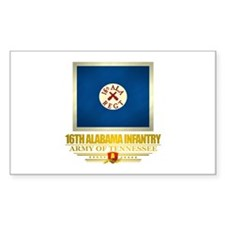 16th Alabama Infantry Decal