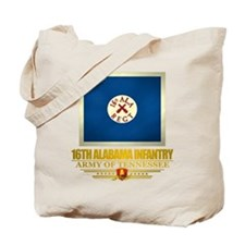 16th Alabama Infantry Tote Bag