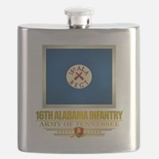 16th Alabama Infantry Flask