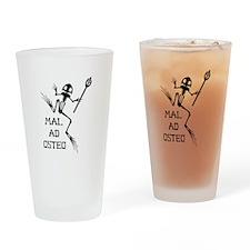 Desert Frog w Trident - MAO Drinking Glass