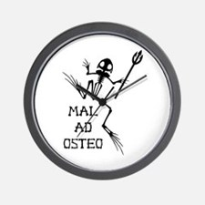 Desert Frog w Trident - MAO Wall Clock