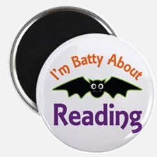 Batty About Reading Magnet