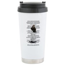 Edgar Allen Poe The Raven Poem Travel Mug
