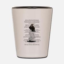 Edgar Allen Poe The Raven Poem Shot Glass