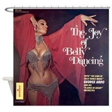 Joy of Belly Dancing Shower Curtain