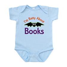 Batty About Books Infant Bodysuit