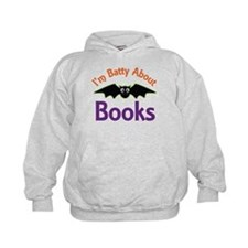 Batty About Books Hoodie