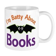 Batty About Books Mug