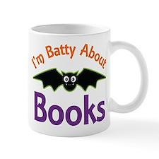 Batty About Books Mug