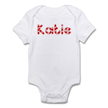 Katie - Candy Cane Infant Bodysuit