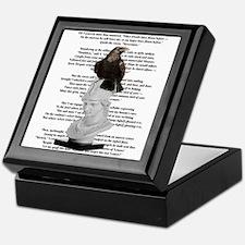 Edgar Allen Poe The Raven Poem Keepsake Box