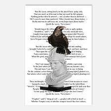 Edgar Allen Poe The Raven Poem Postcards (Package